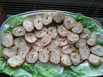 hrana za dječji rođendan Pohane palačinke hrana za dječji rođendan
